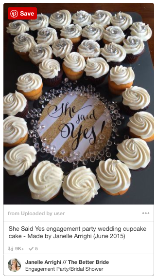 How To Make An Engagement Ring Cupcake Display The Better Bride