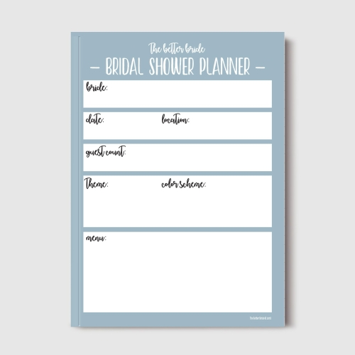 How To Plan A Bridal Shower  Free Printable Pdf Checklist  The